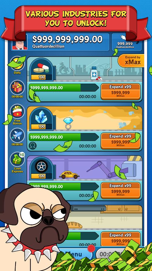 Screenshot 2 The Big Capitalist 3 1.5.4 APK MOD