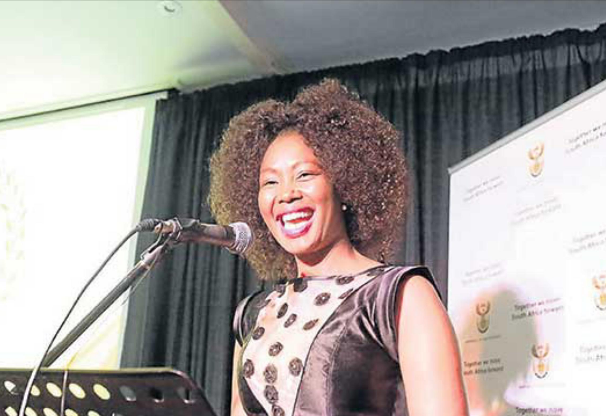 Telecommunications and postal services deputy minister Stella Ndabeni-Abrahams formed part of a panel who discussed gender-based violence in SA at the event