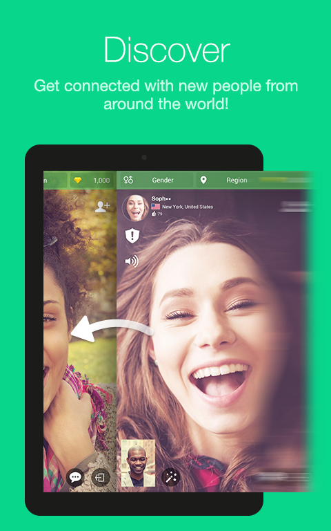 Azar-Video Chat&Call,Messenger- screenshot