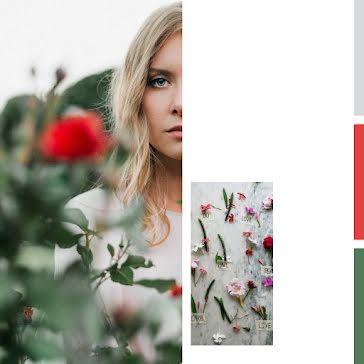 Floral Gaze - Instagram Post Template