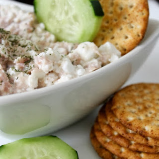 Protein Packed Tuna Dip.