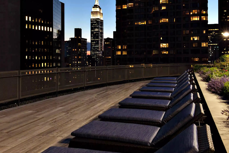 Sun Deck at NYC Apartment