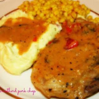 Jaime's Smothered Pork Chops.