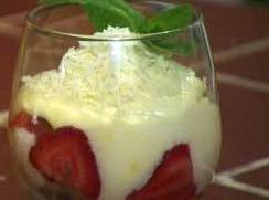 Lemon White Chocolate Mousse Recipe