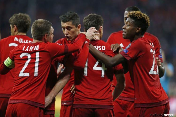 Le Bayern de Munich est Champion d'Allemagne