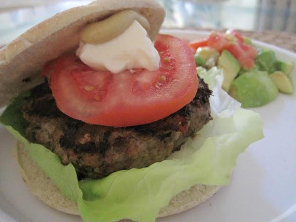 Cilantro Burgers Recipe