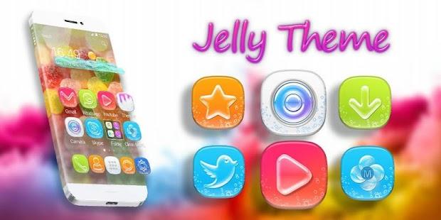 Jelly Candy Theme - náhled
