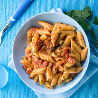 Out of This World Penne With Creamy Tomato Sauce.