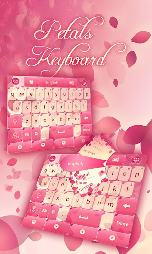 花瓣键盘主题