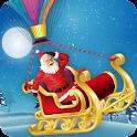 Flying Santa Sleigh icon