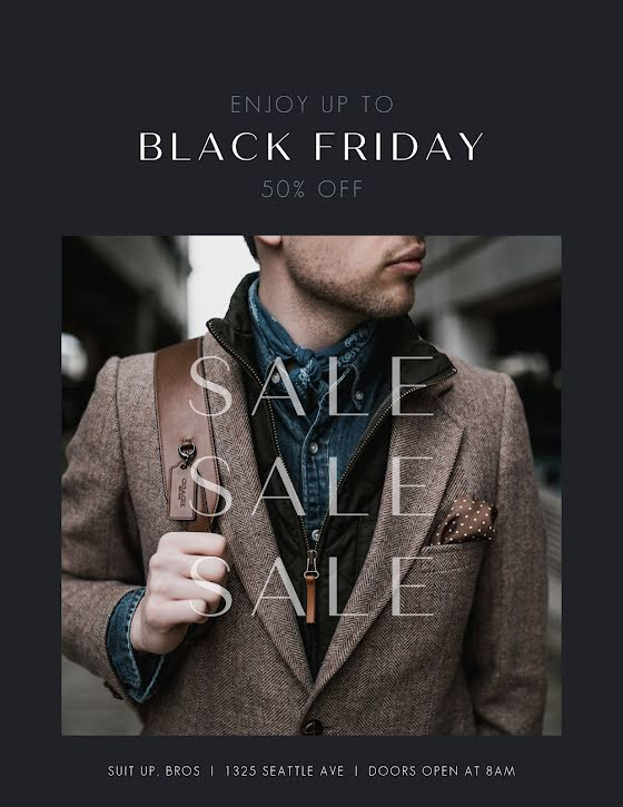 Men's Fashion Sale - Flyer Template