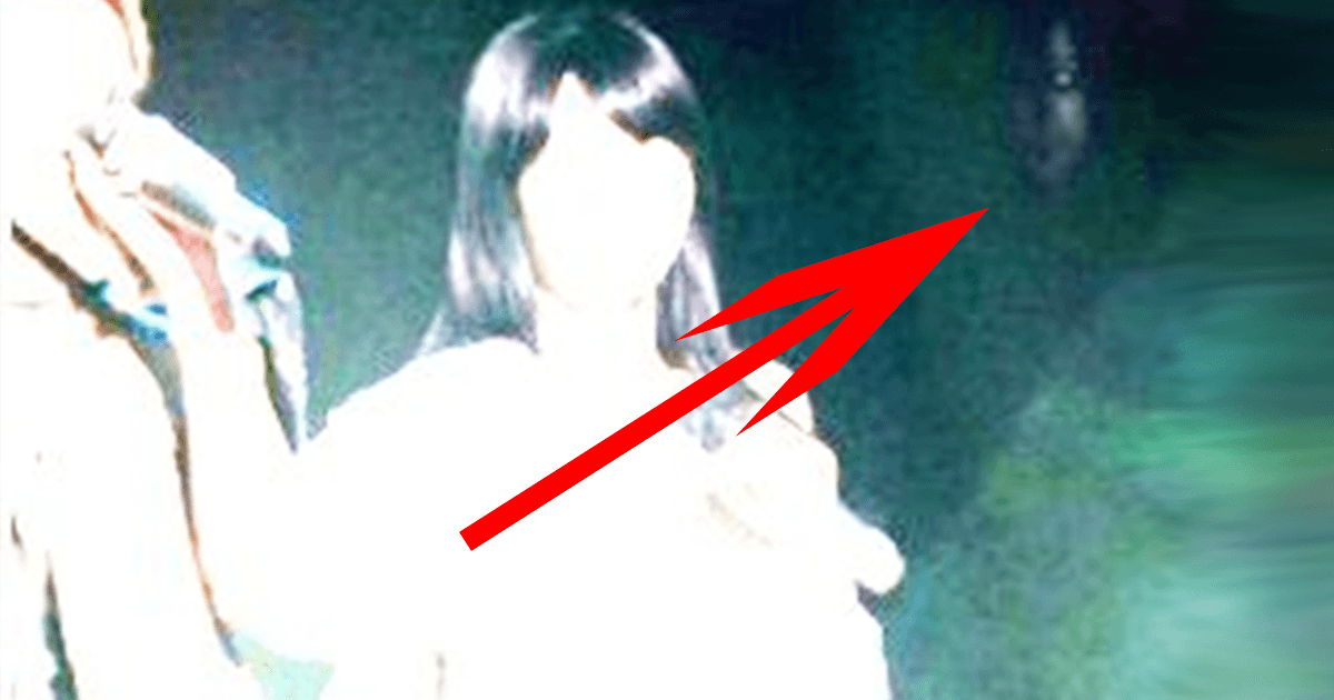 These 7 Haunting Faces Were Caught On Camera With Idols...And No One Can Explain Them