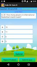 Kids GK Quiz screenshot thumbnail