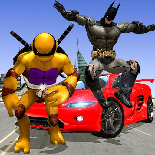 Turtle & Bat Hero Ninja Shadow warrior