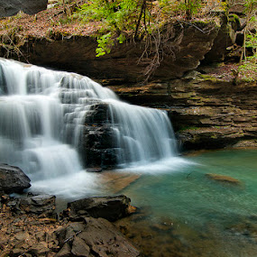 Mize Mill Falls by Alabama Photos - Landscapes Waterscapes ( water, stream, waterfall, creek, alabama, river )