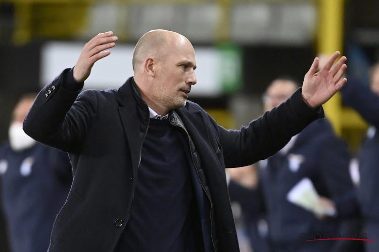 """Philippe Clement l'assure: """"Nous aurions dû gagner ce match"""""""