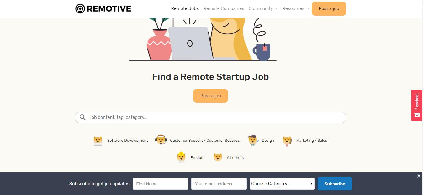Remotive - Remote Jobs Board