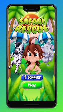 Safari Rescue: Animal Escape Bubble Shooter