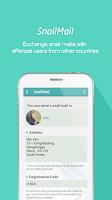 Screenshot of ePenpal - SNS, Snail Mail