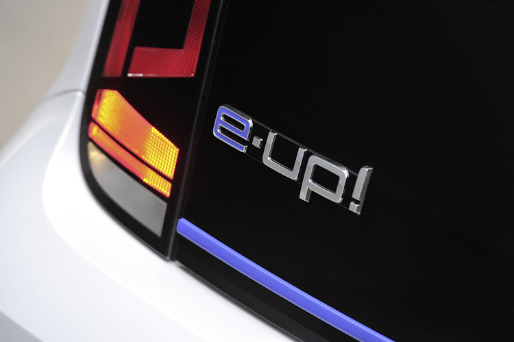 The all-electric Volkswagen e-Up!