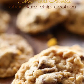 Cornflake Oatmeal Chocolate Chip Cookies.