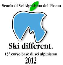 Photo: Locandina del 15° corso base di sci alpinismo 2012