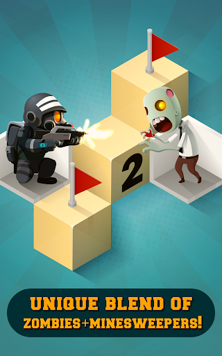 Zombie Sweeper: Minesweeper Action Puzzle 1.1.015 screenshots 9