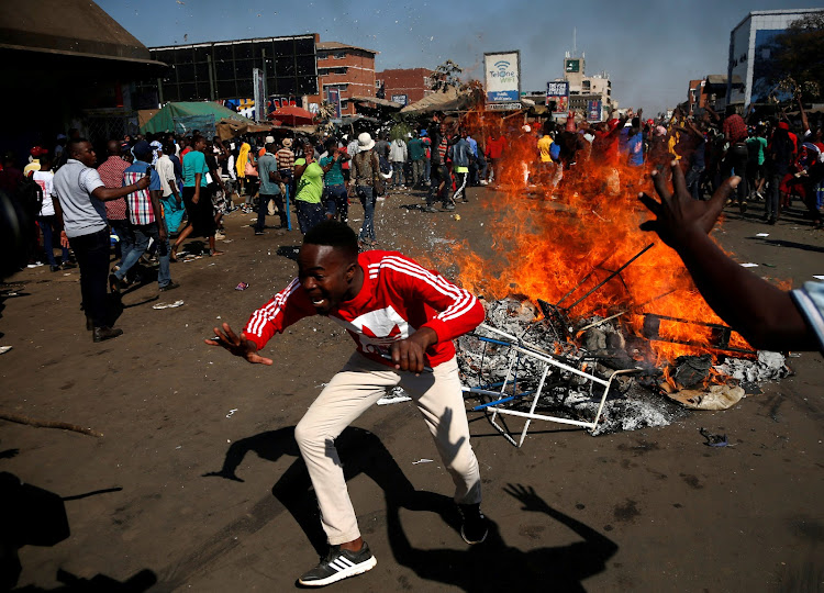 Image result for zimbabwe chaos