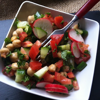 Chopped Middle Eastern Salad
