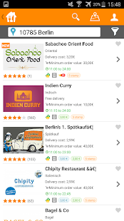 Lieferando.de: Order Food- screenshot thumbnail