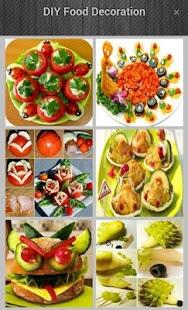 DIY Food dekorace - náhled