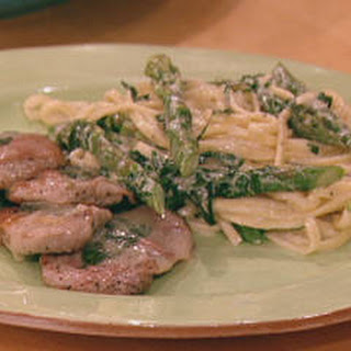 Pork Saltimbocca with White Wine Sauce