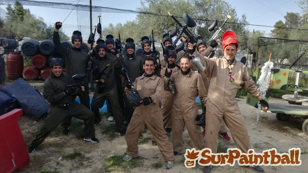 Despedida soltero paintball sevilla surpaintball
