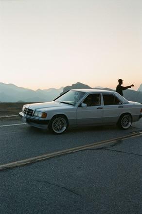 1993 MERCEDES-BENZ 190E Hire CA