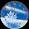 Snowflakes Analog Clock icon