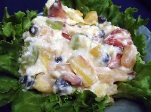 "Click Here for Recipe: Summertime or Anytime Fruit Salad ""This yummy and..."