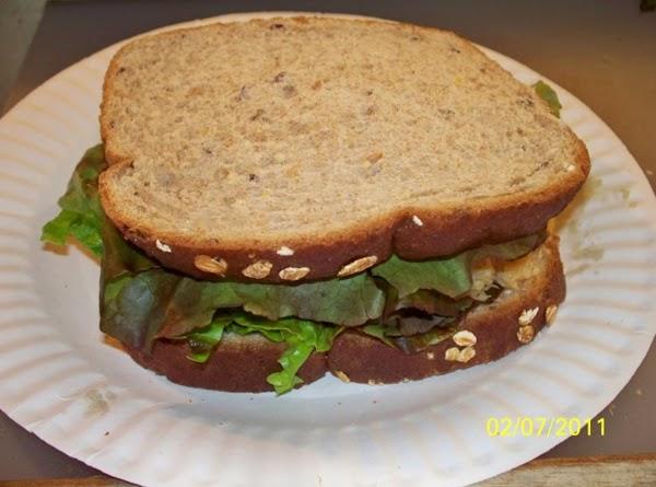 Sweet & Sour Chicken Salad Sandwich Recipe