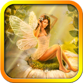 Flowers Fairy Live Wallpaper