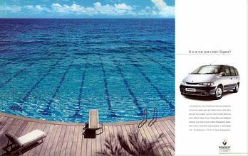 Photo: Annonce pour Renault, 1998, (Agence Publicis) Prix du club des Directeurs Artistiques 99. Philippe Morillon.