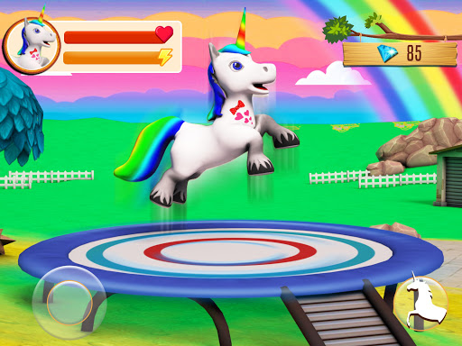 Baby Unicorn Wild Life: Pony Horse Simulator Games modavailable screenshots 11