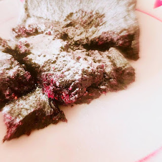 Sticky Berry Brownies Recipe