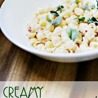 Creamy Crab Macaroni and Cheese