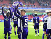 Le onze des jeunes d'Anderlecht