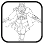 how to draw assassins creed APK icon