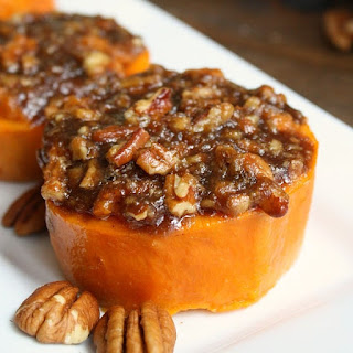 Mini Sweet Potato Casserole.