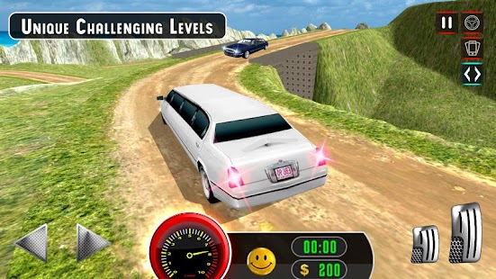 Limousine Taxi Offroad Parking- screenshot thumbnail