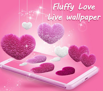 Pink Fluffy Love Heart Live Wallpaper 2020 Apps On Google Play