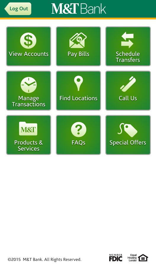 M&T Mobile Banking - screenshot