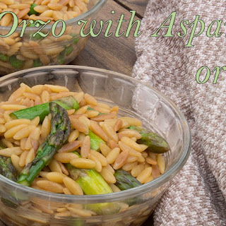 Orzo With Asparagus And Peas Recipes