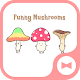 Cute Wallpaper Funny Mushrooms Theme Download on Windows